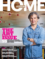 Cover of Austin Home Magazine Winter 2012 Issue