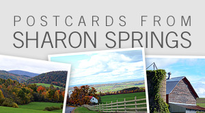 Postcards from Sharon Springs